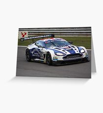 Beechdean Aston Martin Vantage Greeting Card