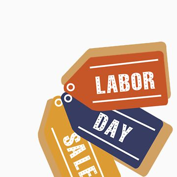 Labor Day Tags by Dejablue