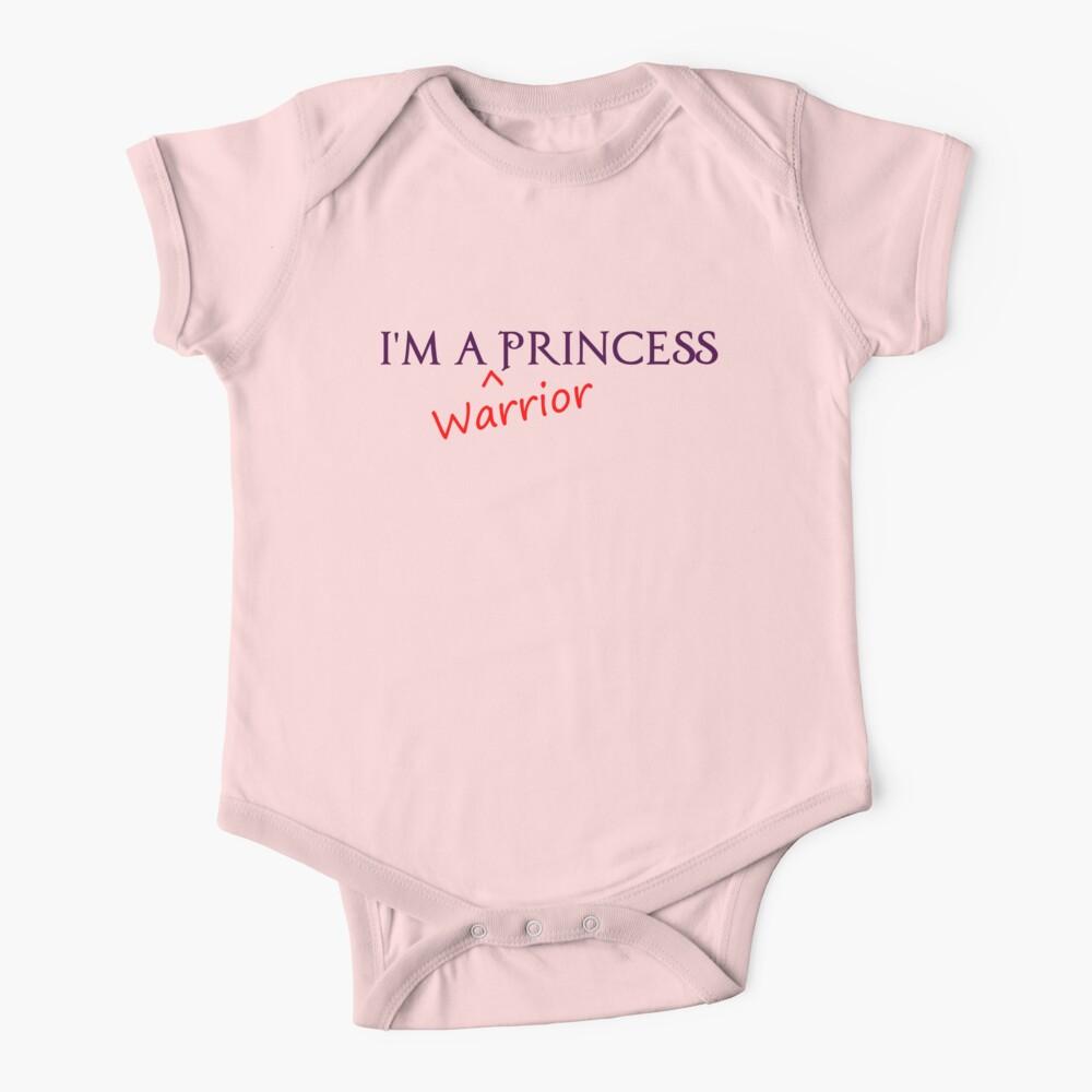 Warrior Princess Baby One-Piece