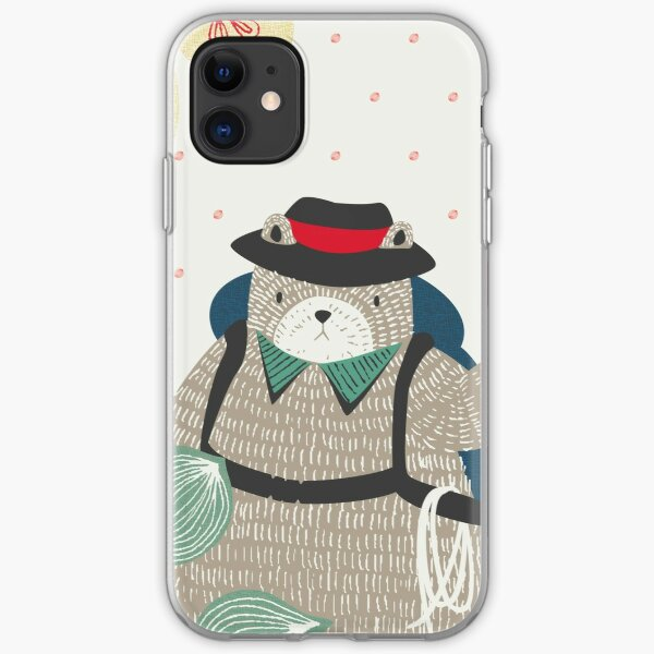 Bear Travel - Let's Go iPhone Soft Case