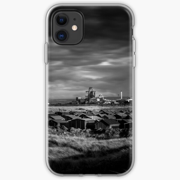 Fishermans Huts and Steel works iPhone Soft Case