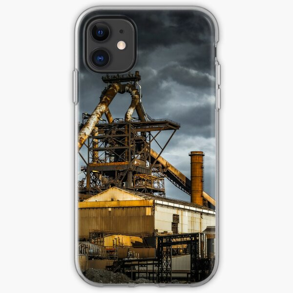 Redcar Blast Furnace iPhone Soft Case