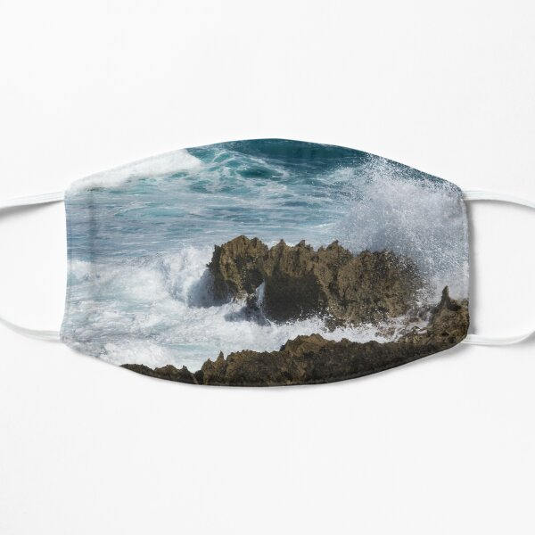 Wave Action - Jagged Lava Rocks and Spume - Act Two Mask