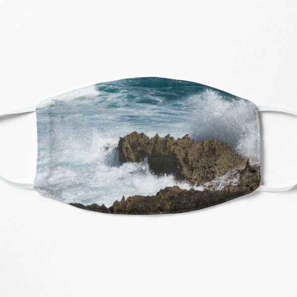 Wave Action - Jagged Lava Rocks and Spume - Act One Mask