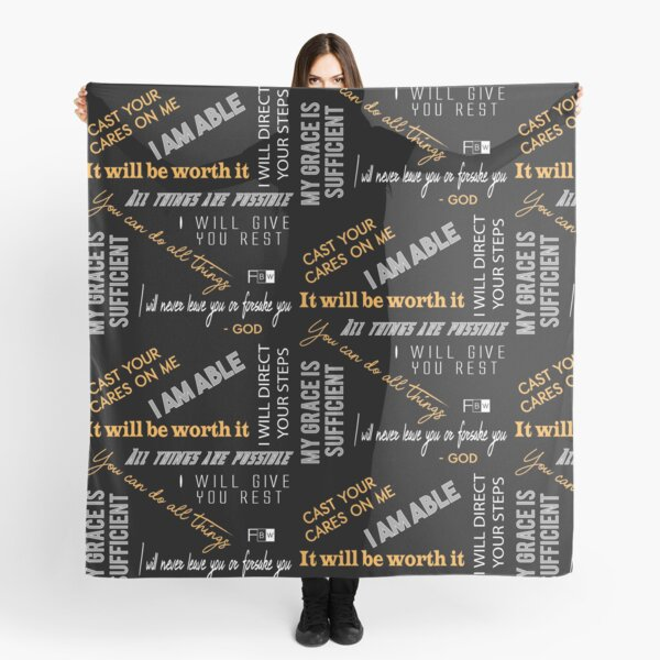 Promises of God Scarf