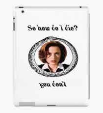 The X-Files - You Don't iPad Case/Skin