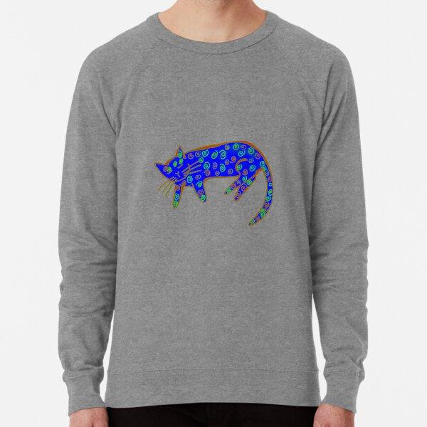 Danish pastry cat in primaries Lightweight Sweatshirt
