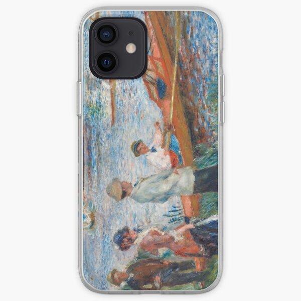 Auguste Renoir - Oarsmen at Chatou iPhone Soft Case
