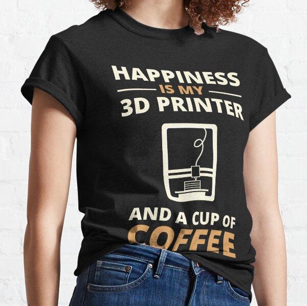 3d Printing Coffee Classic T-Shirt