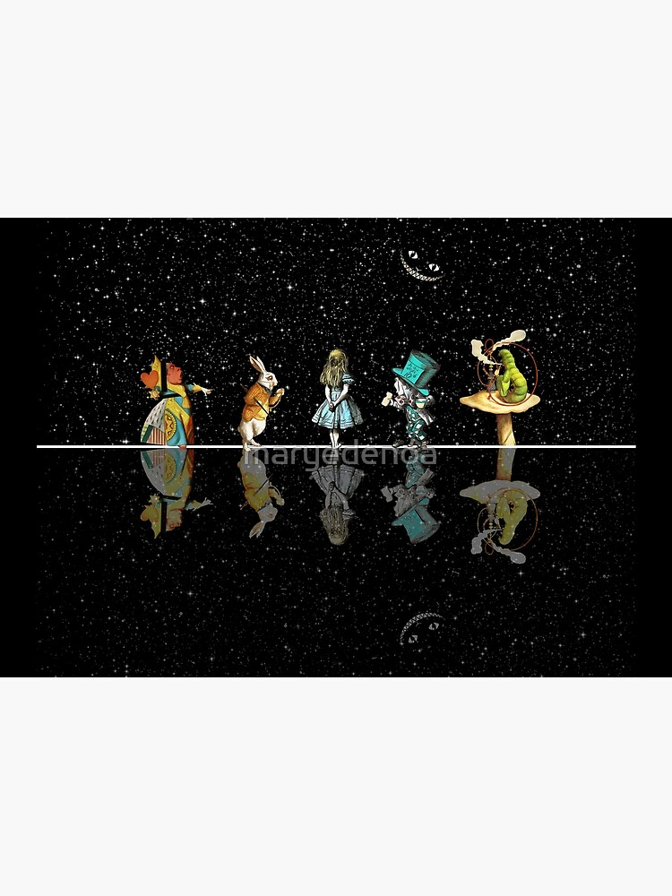 Wonderland Starry Night - Alice In Wonderland by maryedenoa