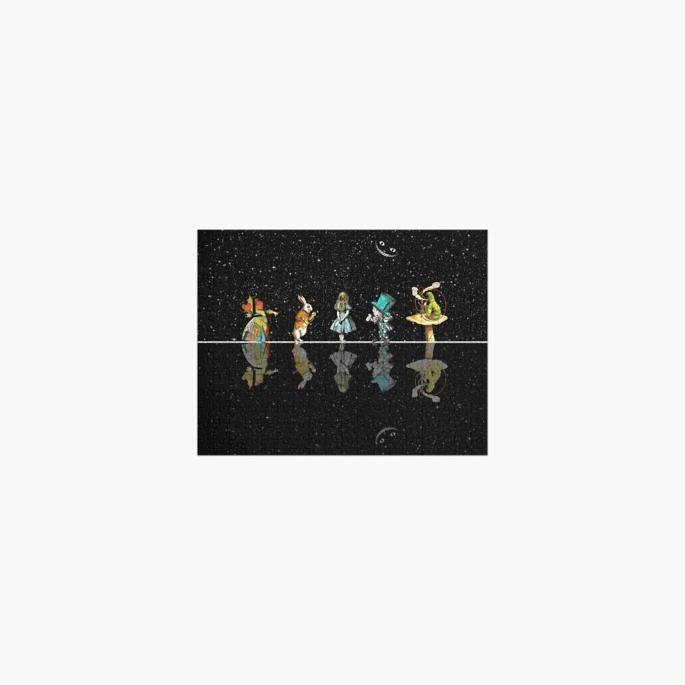 Wonderland Starry Night - Alice In Wonderland Jigsaw Puzzle