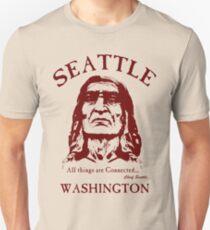 Chief Seattle Unisex T-Shirt
