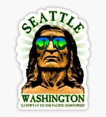 Seattle - Gateway to the Pacific Northwest Sticker