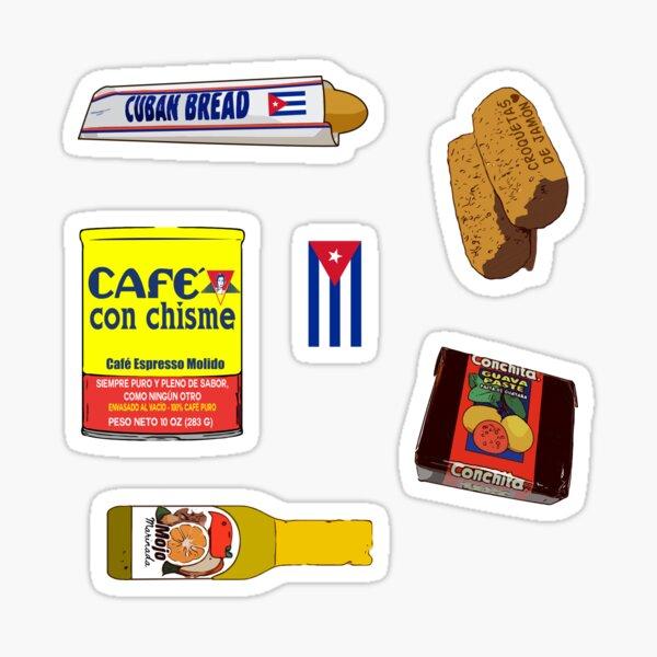 comida cubana americana: pan cubano Pegatina