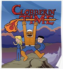 Clobberin' Time Poster