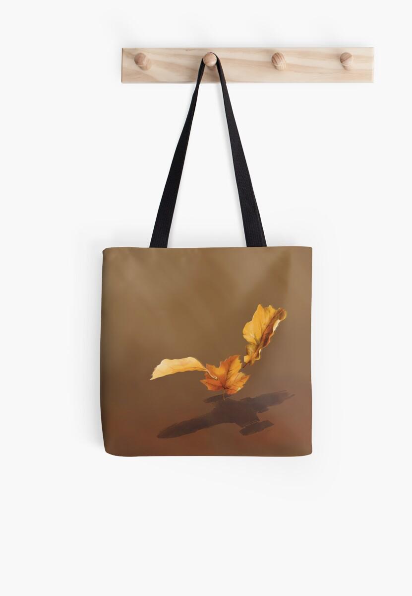 Leaf on the Wind by Glenn Martin