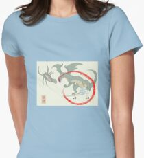 Alices Adventures in Orochiland Women's Fitted T-Shirt