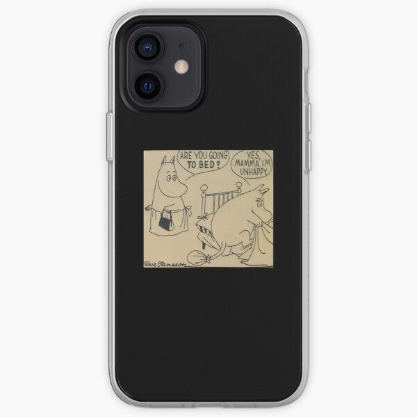Moomin are you going to bed? iPhone Soft Case