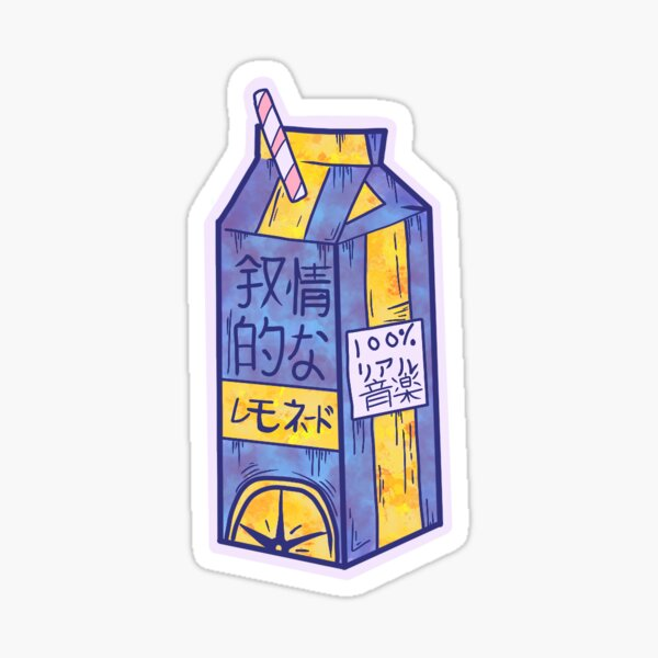 Lemonade box Sticker