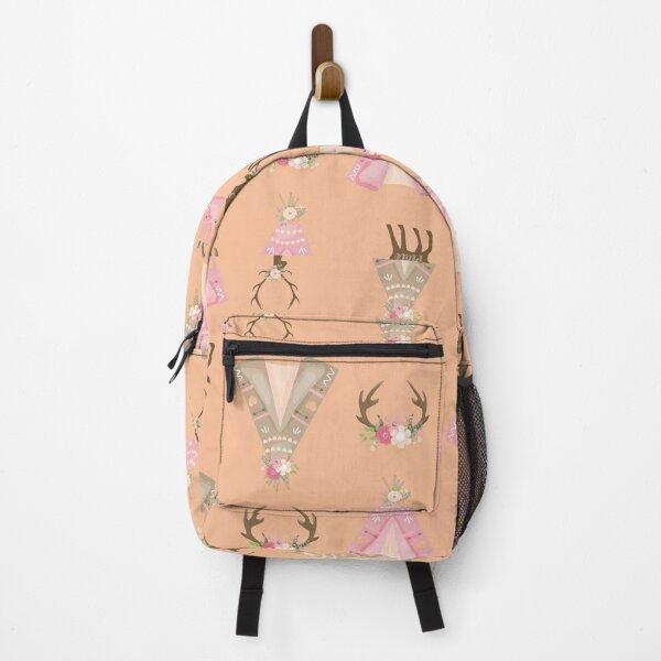 Boho Neck Gator Floral Boho Teepee Backpack