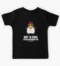 Hot and Cool, I'm da Paradox yo! - Hip Hop Penguin Kids Tee