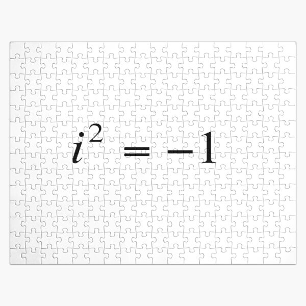 Complex numbers. imaginary. What does it mean? Mathematicians can expand our idea of what numbers are by introducing the square roots of negative numbers Jigsaw Puzzle