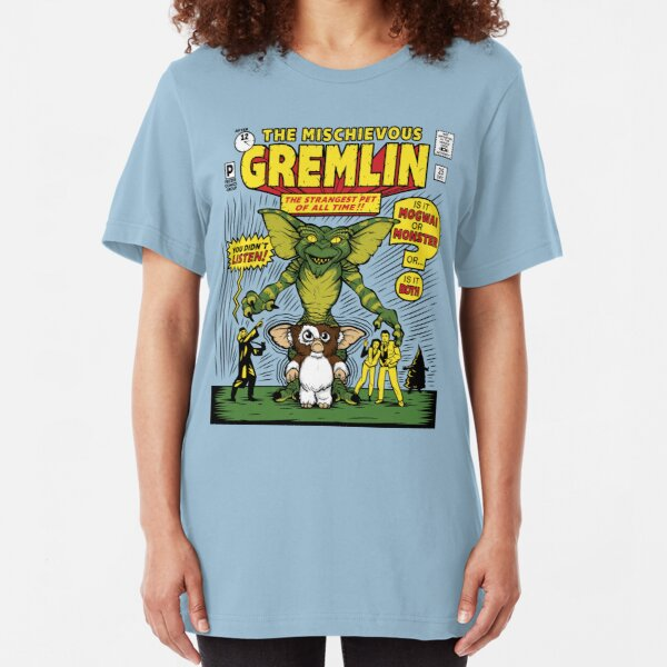 The Mischievous Gremlin Slim Fit T-Shirt