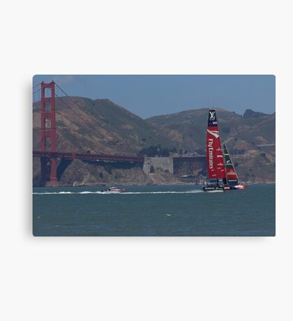 America's Cup Red Hot Canvas Print
