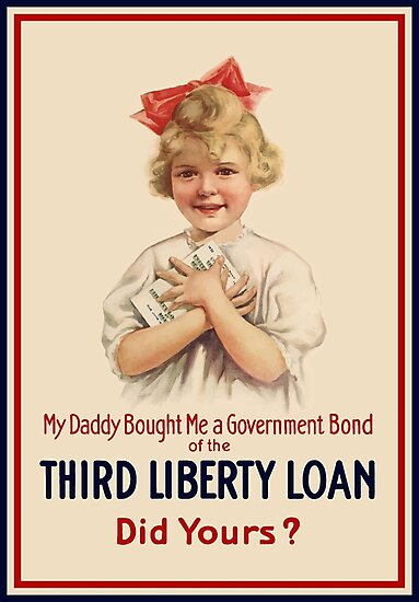 My Daddy Bought Me A Government Bond - WW1 by warishellstore