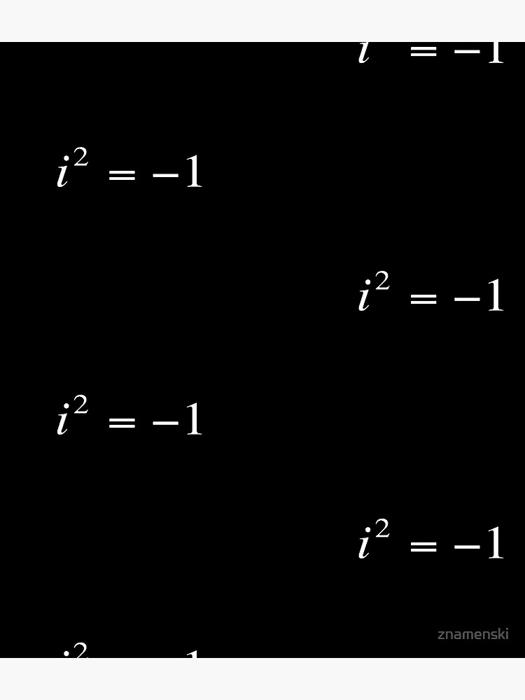 Complex numbers. imaginary. What does it mean? Mathematicians can expand our idea of what numbers are by introducing the square roots of negative numbers by znamenski
