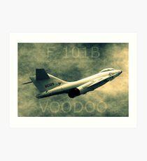 F101B Voodoo Art Print