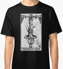 The Hanged Man Tarot Card - Major Arcana - fortune telling - occult Classic T-Shirt