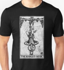 The Hanged Man Tarot Card - Major Arcana - fortune telling - occult Unisex T-Shirt