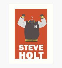 Arrested Development, Steve Holt Illustration Art Print