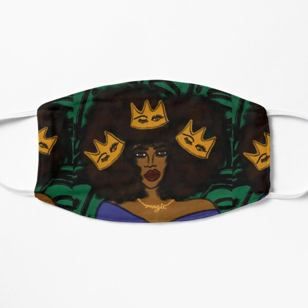 Wear Your Crown Flat Mask