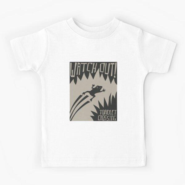Toadlet Crossing Kids T-Shirt