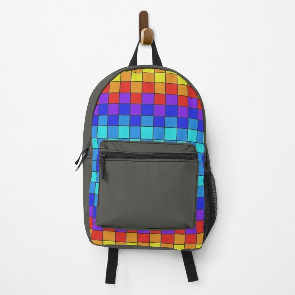 futuristic art Indian Backpack