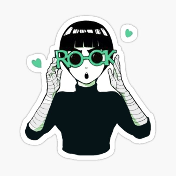 Farewell To The Legend Rock Lee #Funny Sticker