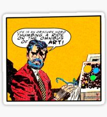 Omnibus of Art Sticker