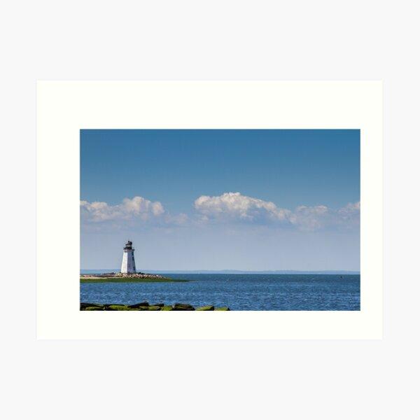 New England Lighthouses - Connecticut Coast Art Print