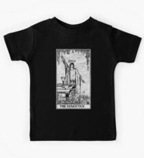 The Magician Tarot Card - Major Arcana - fortune telling - occult Kids Tee