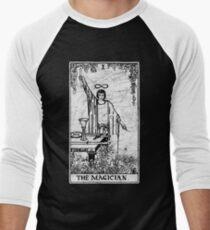 The Magician Tarot Card - Major Arcana - fortune telling - occult Men's Baseball ¾ T-Shirt