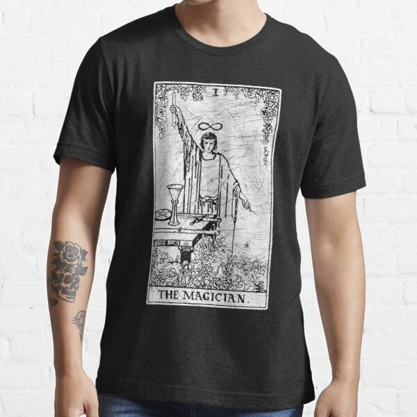 The Magician Tarot Card - Major Arcana - fortune telling - occult Essential T-Shirt