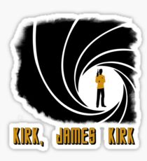 Kirk, James Kirk Sticker
