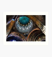 Russian Orthodox Cathedral Art Print