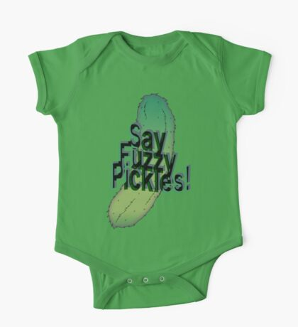 Say Fuzzy Pickles Kids Clothes