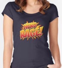 NERD RAGE! Women's Fitted Scoop T-Shirt