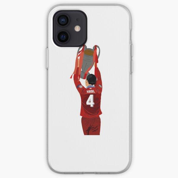 Virgil Van Dijk - Trophy Lift - Liverpool iPhone Soft Case