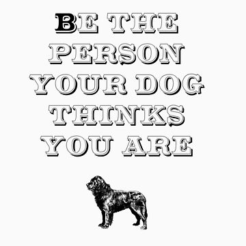 Be the Person - Newfoundland by TheFurryCookie