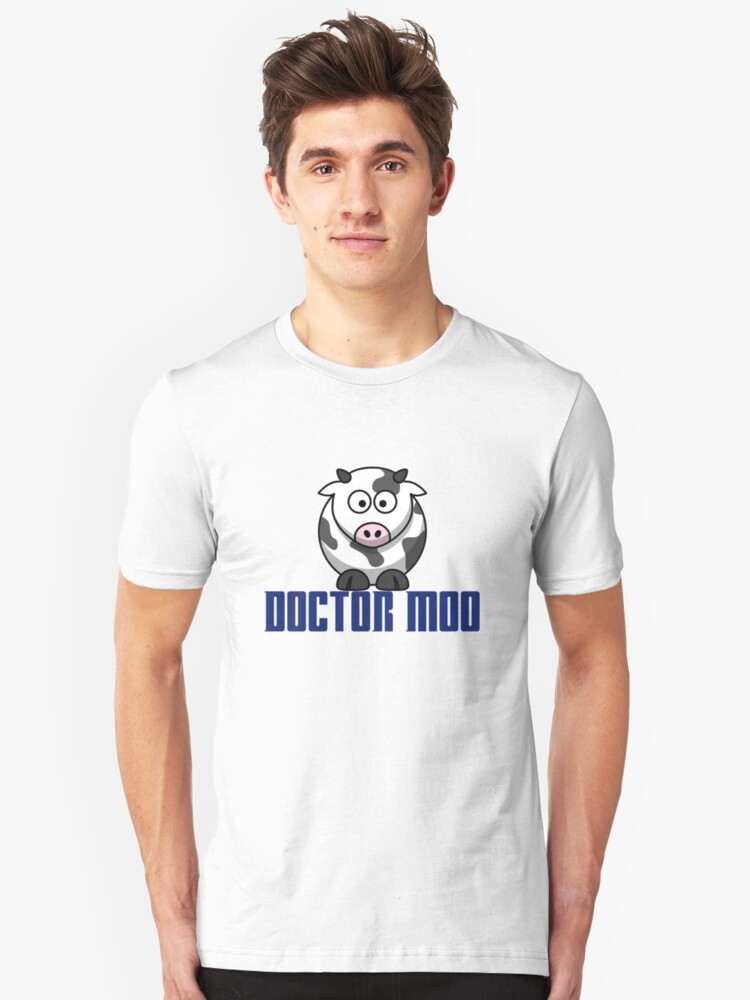 Doctor Moo Unisex T-Shirt Front